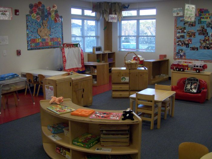 Typical Preschool Classroom