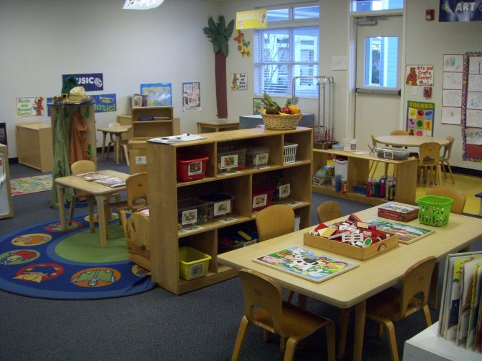 Typical Pre-K Classroom